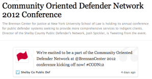 Community_oriented_defender_network_2012_conference_with_images_tweets__justcity__storify