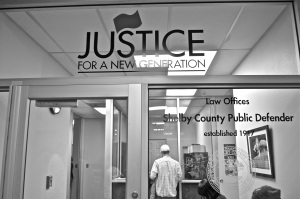 Law Offices of the Shelby County Public Defender lobby