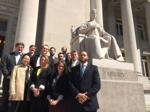 Members of the 2014 Alternative Spring Break criminal defense track.