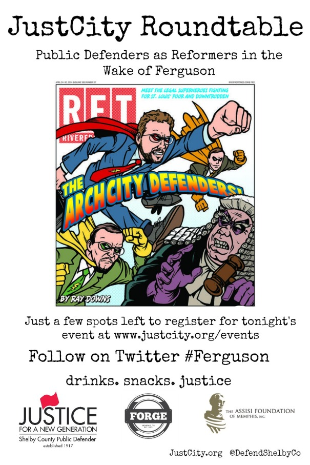 Arch City Defenders Flyer #ferguson