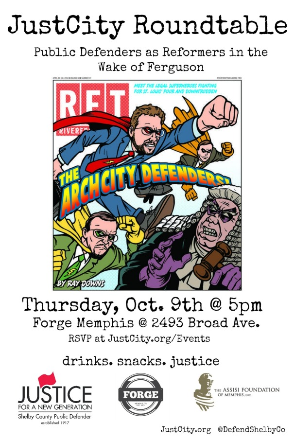 Arch City Defenders Flyer